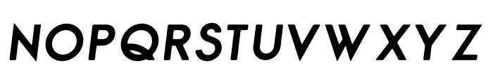 George Rounded Bold Italic Font UPPERCASE