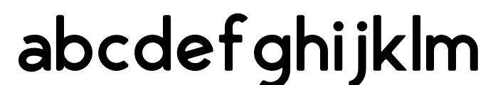 George Rounded Semibold Font LOWERCASE