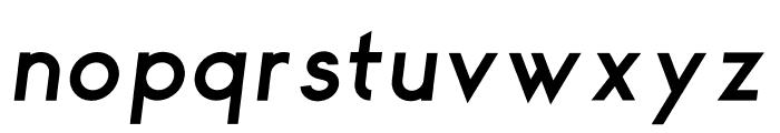 George Semibold Italic Font LOWERCASE
