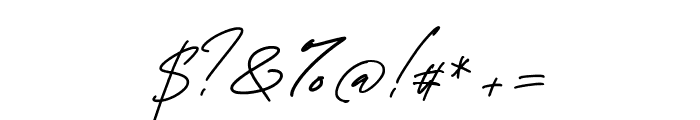 George Signature Font OTHER CHARS