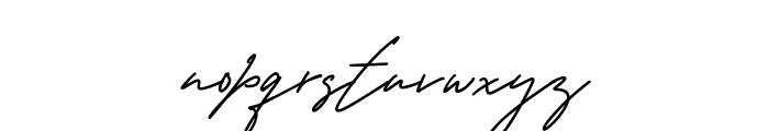 George Signature Font LOWERCASE