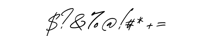 GeorgeSignature Font OTHER CHARS