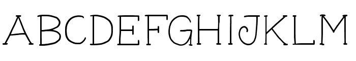 GeorgeYoungSlab Font UPPERCASE