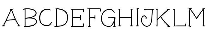 GeorgeYoungSlab Font LOWERCASE