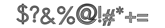 Golden Arrow Font OTHER CHARS