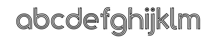 Golden Arrow Font LOWERCASE