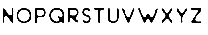Golden Styled Font LOWERCASE