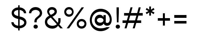 Gopher Text Regular Font OTHER CHARS