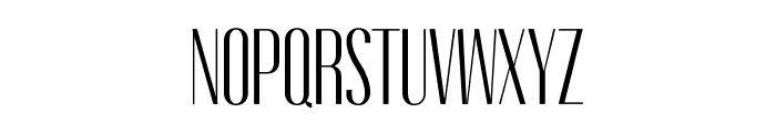 Gothink-book-condensed Font UPPERCASE