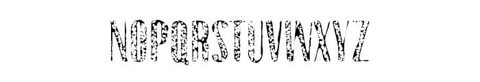 Gothink-extraboldaged1 Font UPPERCASE