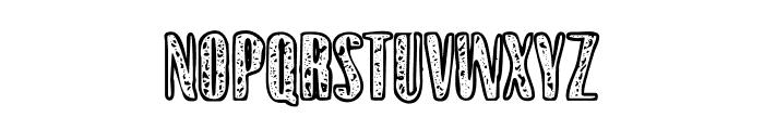Gothink-extraboldagedoutline1 Font UPPERCASE