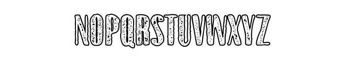 Gothink-extraboldagedoutline Font UPPERCASE