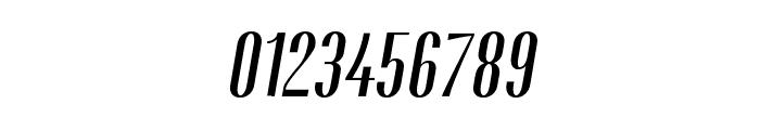 Gothink-semiboldItalic Font OTHER CHARS