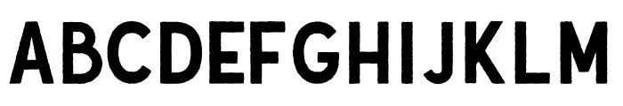 Gutenberg Clean Regular Font UPPERCASE