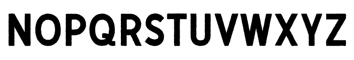 Gutenberg Clean Regular Font LOWERCASE