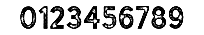 Gutenberg Regular Font OTHER CHARS