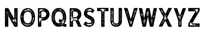 Gutenberg Regular Font UPPERCASE