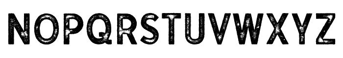 Gutenberg Regular Font LOWERCASE