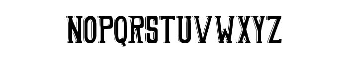 HDNShade Font LOWERCASE
