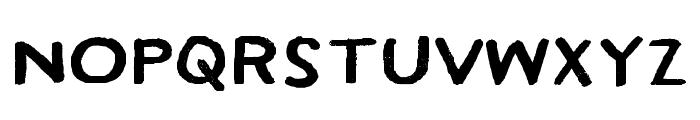 HamiltonSansPainted Font LOWERCASE