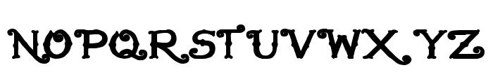 HandMade in America Bold Font UPPERCASE
