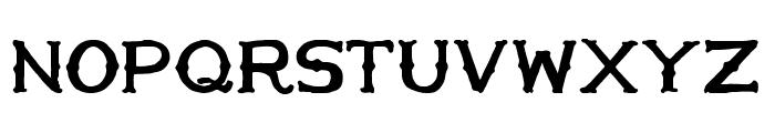 HandMade in America Bold Font LOWERCASE