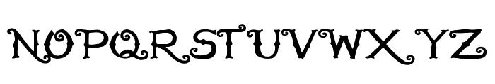 HandMade in America Regular Font UPPERCASE