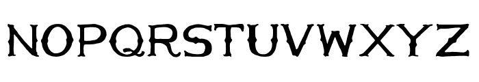 HandMade in America Regular Font LOWERCASE