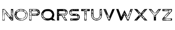 Hermannstadt Bold Press Font UPPERCASE