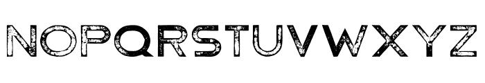 Hermannstadt Bold Press Font LOWERCASE