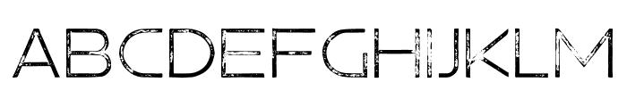 Hermannstadt Light Press Font UPPERCASE