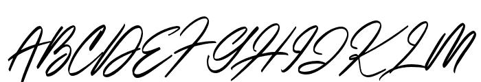 ItalianHorskey Font UPPERCASE
