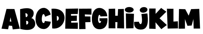 JIMMY BOYZ Font LOWERCASE