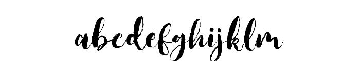 JackFrost Font LOWERCASE