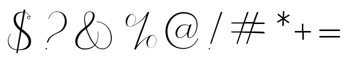 JasmithaScript Font OTHER CHARS