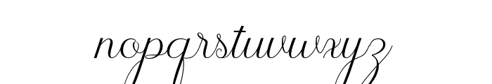 JasmithaScript Font LOWERCASE