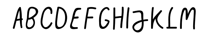 Jenice Font UPPERCASE