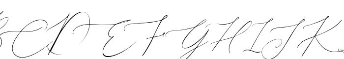 John Davidson Font UPPERCASE
