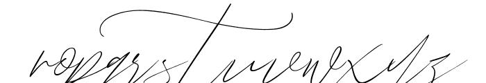 John Davidson Font LOWERCASE