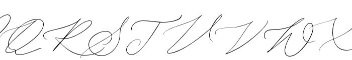 JohnDavidson Font UPPERCASE