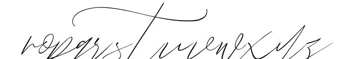 JohnDavidson Font LOWERCASE