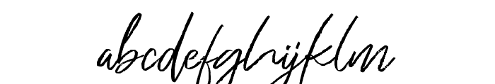Just Kelly Justine Font LOWERCASE