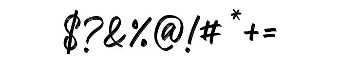 Kaiya Land Regular Font OTHER CHARS