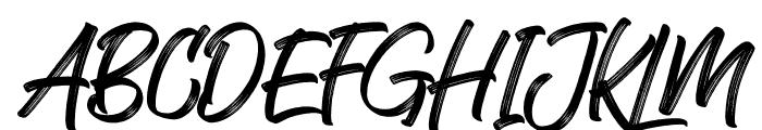 Kaiya Land Regular Font UPPERCASE