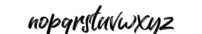 Kaiya Land Regular Font LOWERCASE