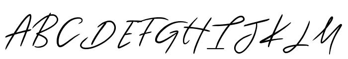 Katastrophe Alternate Font UPPERCASE