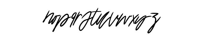 Katastrophe Alternate Font LOWERCASE
