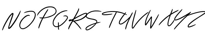 Katastrophe Font UPPERCASE