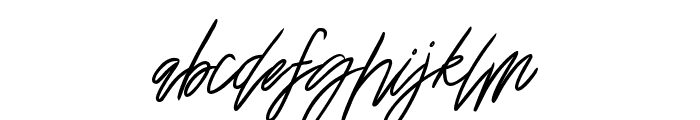 Katastrophe Font LOWERCASE