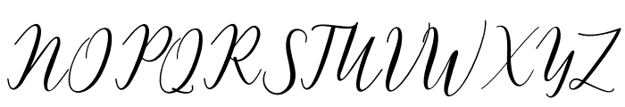 Katlyne Font UPPERCASE